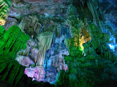 Guilin, Red-Flute-Cave