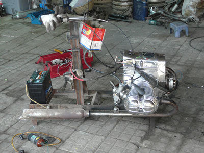 BMW R60/2 Reconstruction